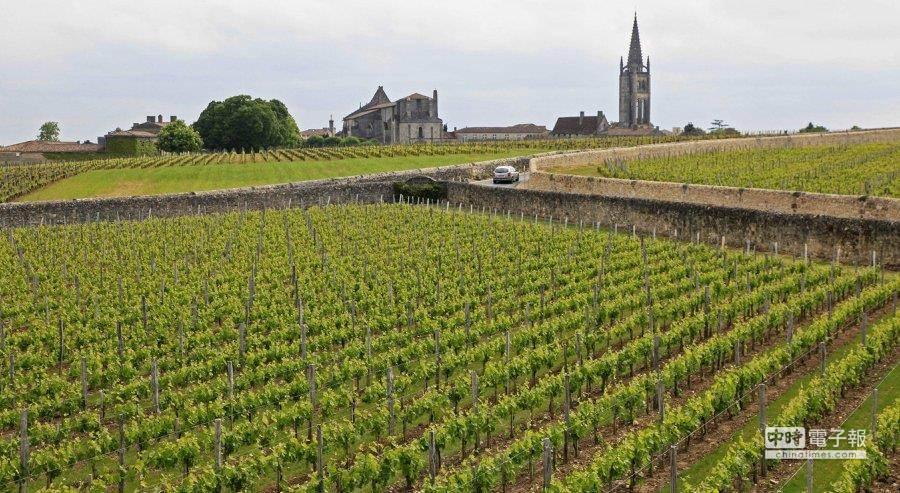 聯合國教科文組織(UNESCO)4日宣布,世界聞名的法國北部香檳區及勃艮第的葡萄園、酒窖和酒莊,獲列入世界文化遺產。(美聯社)