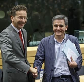 希臘新財長想啥 便條紙被拍漏餡