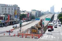台12線沙鹿陸橋改建工程 安全無虞