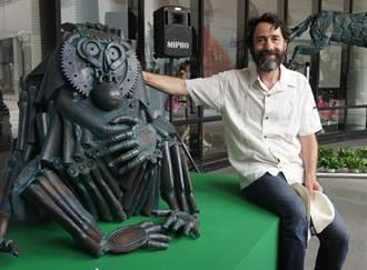 比利時金屬藝雕展即起科博館登場
