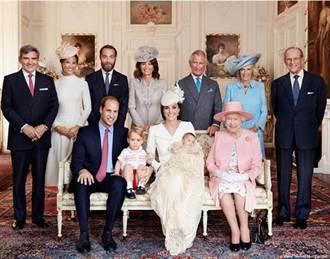 夏綠蒂小公主受洗後 首張皇室全家福亮相
