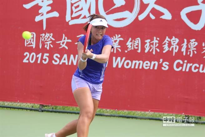 中華隊李亞軒/許絜瑜闖光州世大運網球女雙金牌戰,圖為李亞軒。(資料照,網協提供)