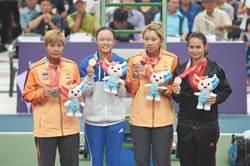 世大運網球女單與團體摘金 張凱貞賺135萬