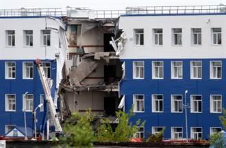 俄羅斯軍營坍塌 死亡人數增至23人