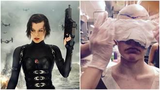 蜜拉喬娃薇琪公布《惡靈古堡6》新造型 竟變成光頭?