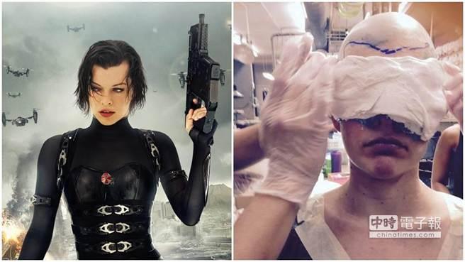 蜜拉喬娃薇琪(圖/索尼電影《惡靈古堡5》、Milla Jovovich's Instagram)