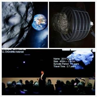 價值5兆美元 白金小行星飛掠地球
