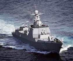 抗美 陸南海艦隊增052D艦