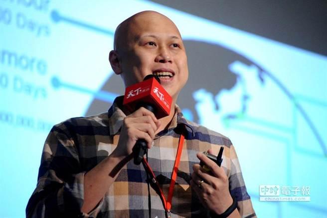 台灣群眾募資網站flyingV創辦人林弘全指出,目前網路最紅的群眾募資,其實就是傳統的標會。(天下雜誌提供)