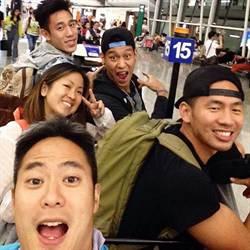 林書豪回憶亞洲行機場衝刺時光