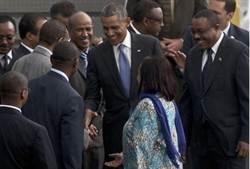歐巴馬結束肯亞省親 抵達衣索比亞
