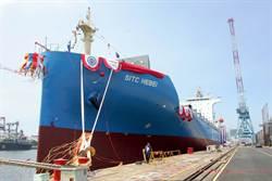 台船承造海豐1800 TEU貨櫃輪 命名「海豐河北輪」