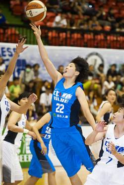 瓊斯盃女籃 中華藍78:71擊退中華白