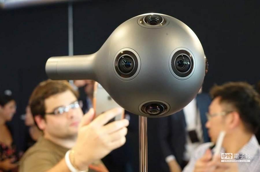 Nokia發表的OZO VR攝影機。(取自The Verge)