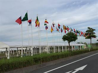 童軍世界大露營 ROC國旗飄揚日本上空