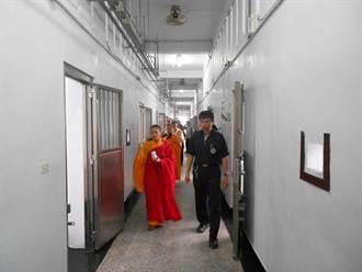 8月將收50名收容人 台南二監舉辦祈福法會