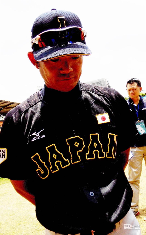 U12世界盃少棒賽日本隊總教練仁志敏久認為,戰績雖不理想,但小球員的人格有成長。(廖德修攝)