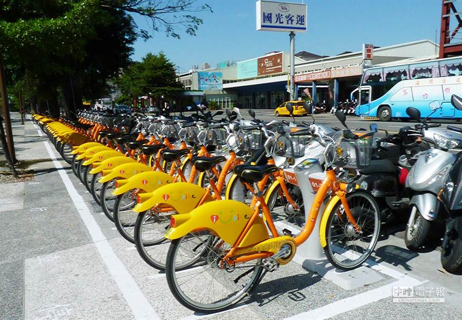台中市政府交通局自今日起舉辦iBike公共自行車租賃站第二階段投票活動,歡迎民眾踴躍投票。(陳世宗攝)