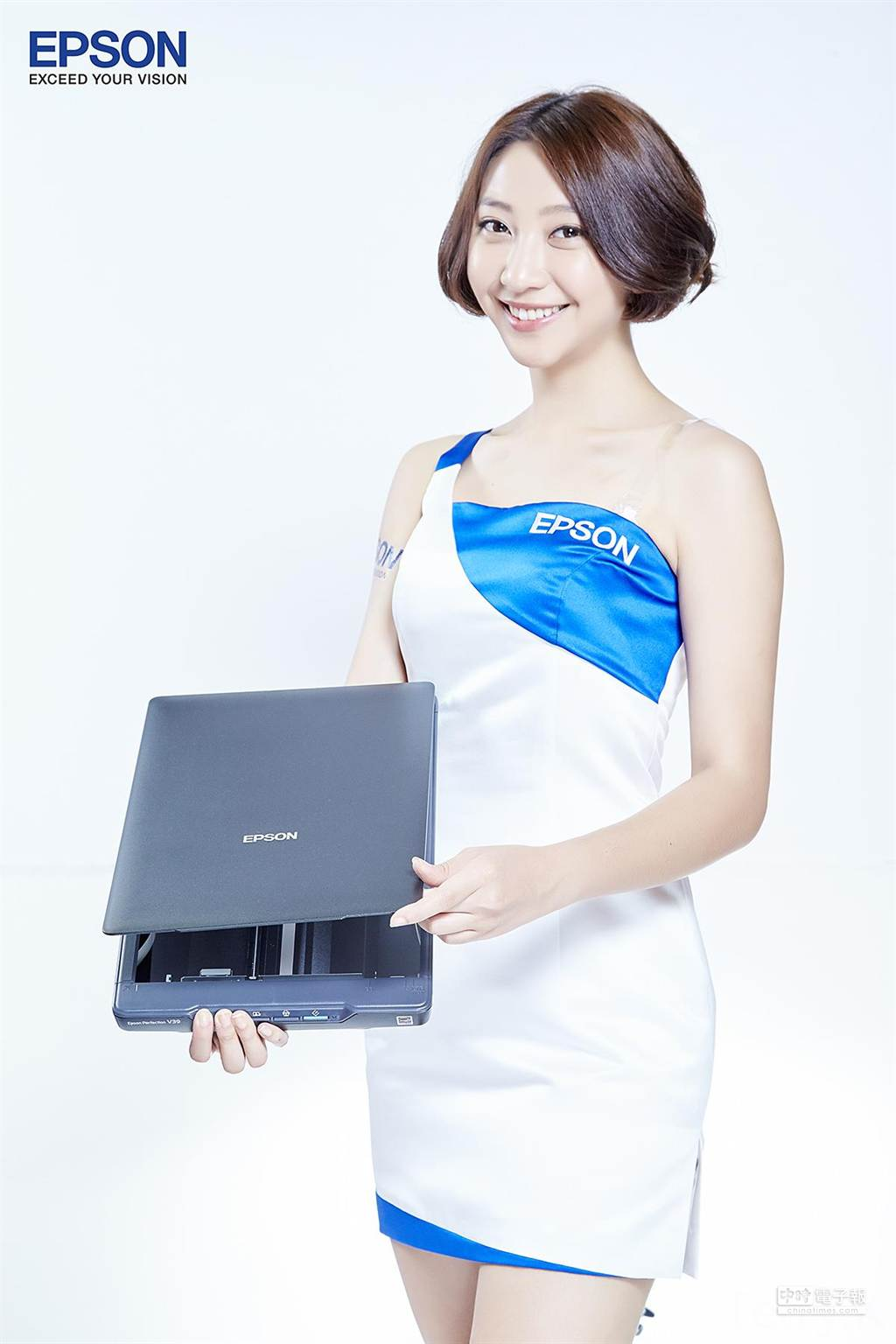 Epson8月3日推出挾取紙鈔最高的參賽者,可用99元鈔集價挾回掃描器。(圖/業者提供)