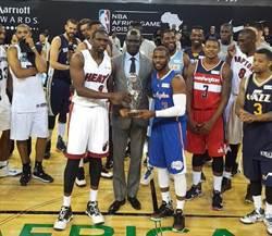 NBA非洲賽落幕 世界隊逆轉勝非洲隊