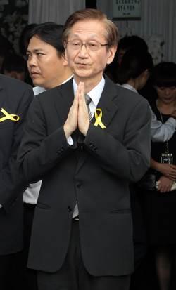 華碩財務長張偉明今天舉行公祭