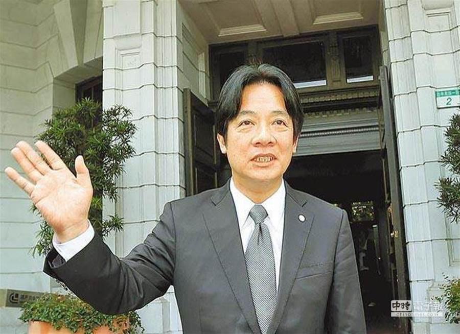 台南市長賴清德。(報系資料照)