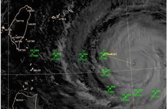 氣象局「追風」揭開中颱蘇迪勒秘密