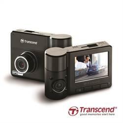 創見DrivePro 520行車紀錄器 雙鏡頭兼顧內外