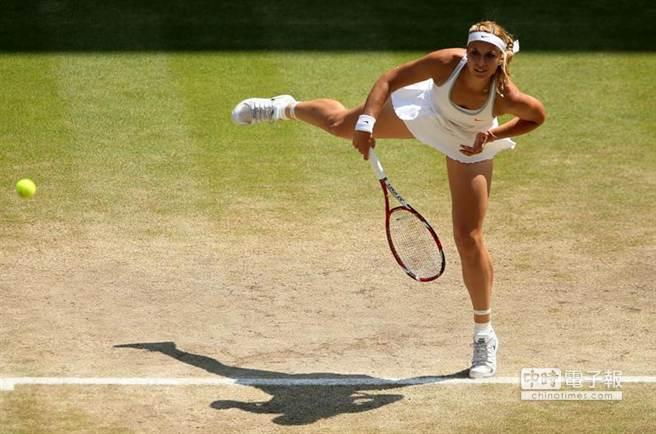 德國甜姊兒李絲琪保有女網史上發球最快球速紀錄。(摘自李絲琪官網)