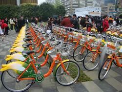 台中市向心兒童公園站啟用 iBike達55站