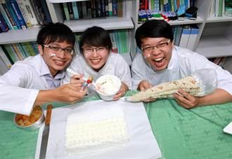 蛋糕新手救星 高雄大學學生發明隔熱擠花袋