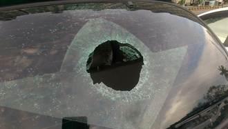 北區兵配廠砸車頻傳 苦主PO照籲民眾提高警覺