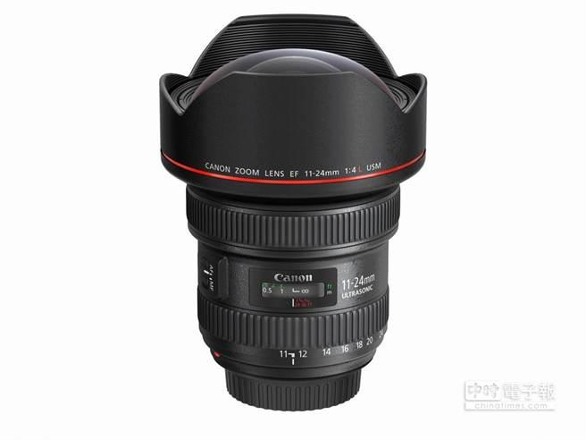 Canon EF 11-24mm f/4L USM 榮獲EISA Award 2015-2016「最佳專業鏡頭」。(業者提供)