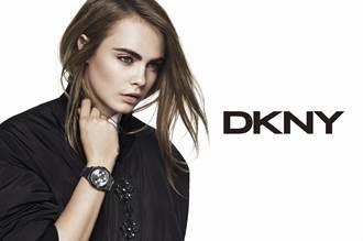DKNY與Cara Delevingne再度攜手合作推出新一季腕錶系列