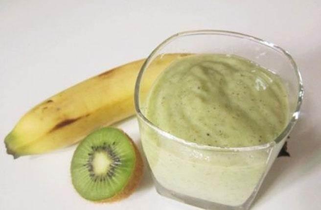 奇異果跟香蕉一起吃。(圖/好豆網)