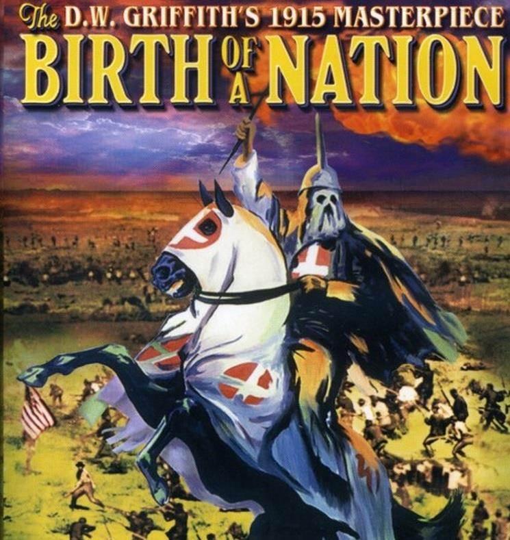 《一個國家的誕生》將黑人描繪成生來只為強暴白人婦女的惡魔,該影片被徹底禁映。(圖/中新網)
