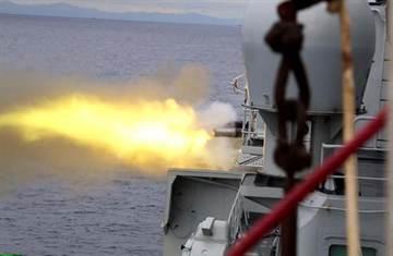 中俄日本海搶灘軍演 乾式登陸