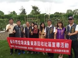 大毅履幸福社區 獲中市環保局首張回收讚A級標示