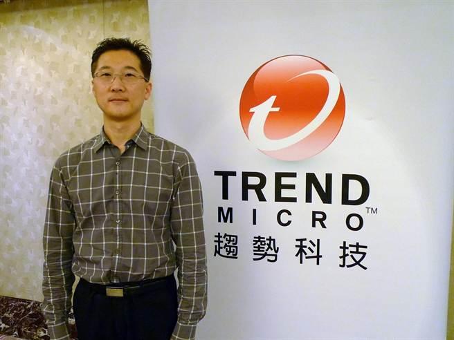 趨勢科技資深惡意程式分析師Sean Park於HITCON台灣駭客年會以「贏得網路銀行戰爭」為題,進行分享。(圖/趨勢科技)