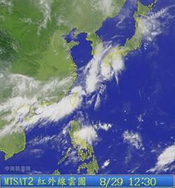 氣象專家:下周恐有颱風「跨界」