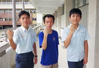 中一中學生 獲奧林匹亞競賽3金1銀