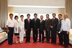 亞洲台商會總會長 拜訪台中市長林佳龍