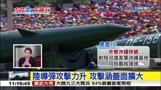 大陸九三閱兵 新式導彈成亮點
