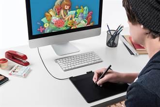 Wacom推出新一代Intuos塗鴉、藝術、動漫、相片繪圖板