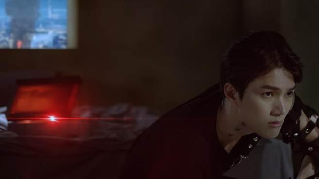 陳傑瑞首創「雙螢幕互動MV」。(杰瑞克提供)