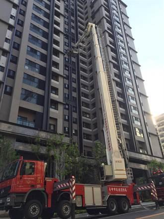 參照美國救災模式 中市消防局高樓搶救演練