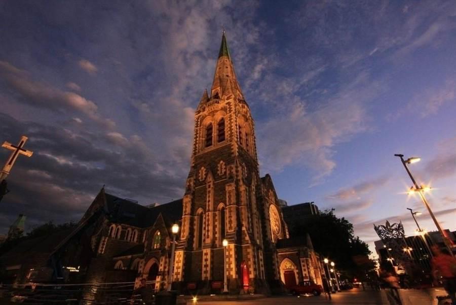 紐西蘭的基督城。圖:業者提供