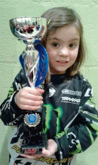 有夠萌 4歲女娃立志奧運奪金