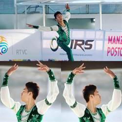 泰山高中陳毅帆奪世界直排男子花式溜冰金牌