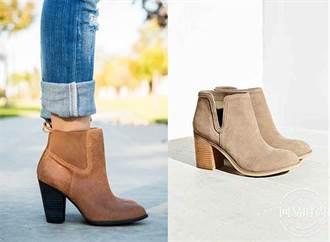 秋天來雙麂皮短靴當作穿搭亮點